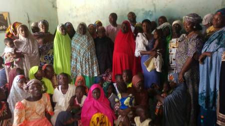 Some beneficiaries of the last Outreach to Maiduguri city, Borno State