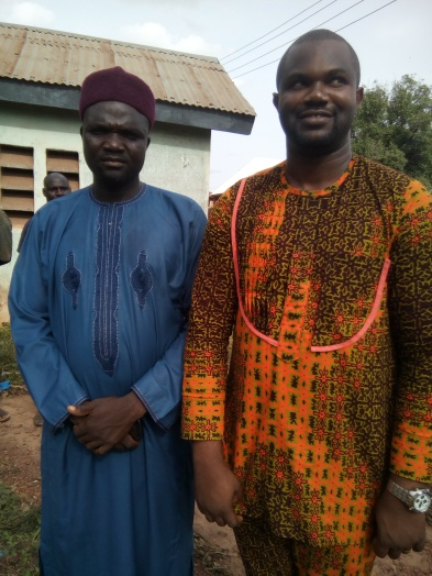 Picture with the Aguma of Yewuti village